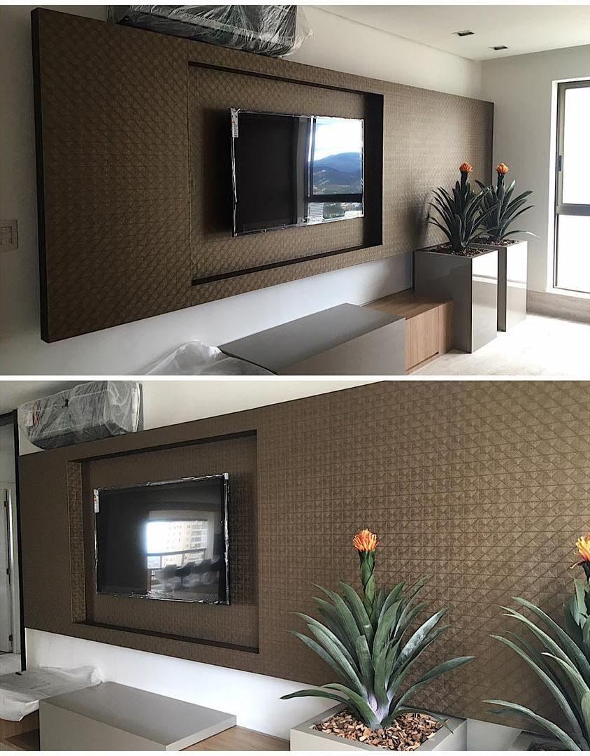 Papel de parede Textura Couro